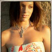 """Style """"In Paris"""" Close up of Vintage Kimono and Love Necklaces"""