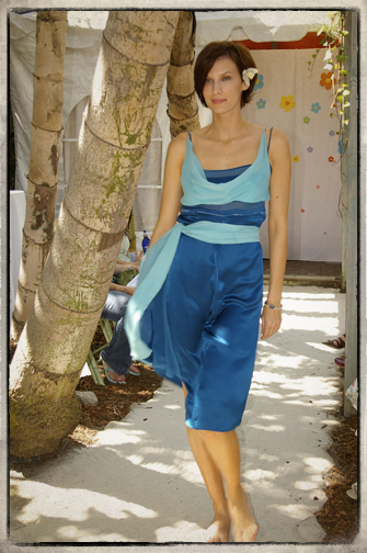 """Style """"Magical Forest"""" Two is Better Than One - Made of Two Upcycled Dresses"""
